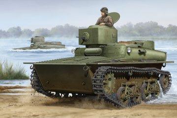 Soviet T-37 Amphibious Light Tank-Early · HBO 83818 ·  HobbyBoss · 1:35