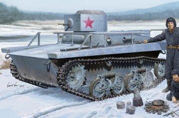 Soviet T-37TU Command Tank · HBO 83820 ·  HobbyBoss · 1:35