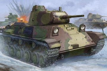 Finnish T-50 Tank · HBO 83828 ·  HobbyBoss · 1:35