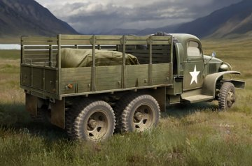 US GMC CCKW-352 Wood Cargo Truck · HBO 83832 ·  HobbyBoss · 1:35