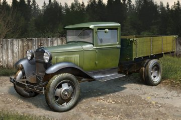 Soviet GAZ-AA Cargo Truck · HBO 83836 ·  HobbyBoss · 1:35