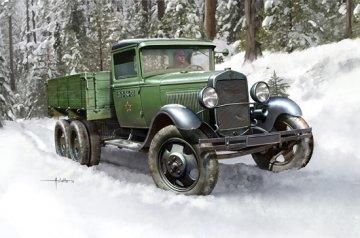 Soviet GAZ-AAA Cargo Truck · HBO 83837 ·  HobbyBoss · 1:35