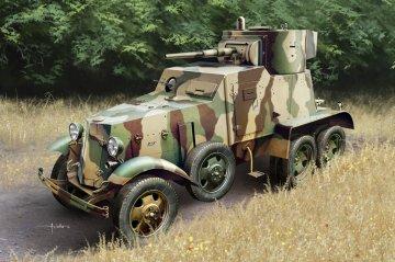 Soviet BA-6 Armor Car · HBO 83839 ·  HobbyBoss · 1:35