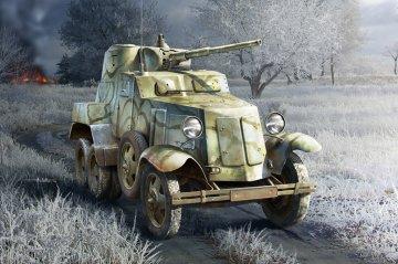 Soviet BA-10 Armor Car · HBO 83840 ·  HobbyBoss · 1:35