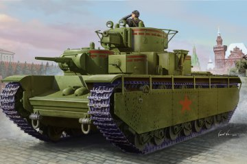 Soviet T-35 Heavy Tank-Early · HBO 83841 ·  HobbyBoss · 1:35