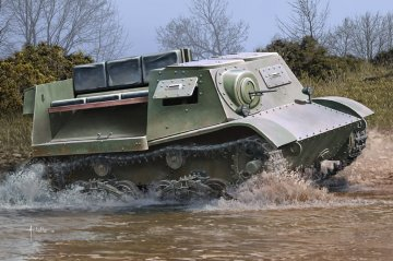 Soviet T-20 Armored Tractor Komsomolets 1940 · HBO 83848 ·  HobbyBoss · 1:35