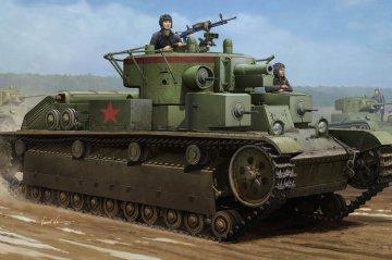 Soviet T-28 Medium Tank (Welded) · HBO 83852 ·  HobbyBoss · 1:35