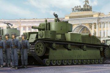 Soviet T-28E Medium Tank · HBO 83854 ·  HobbyBoss · 1:35