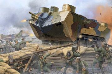 French Saint-Chamond Heavy Tank-Early · HBO 83858 ·  HobbyBoss · 1:35