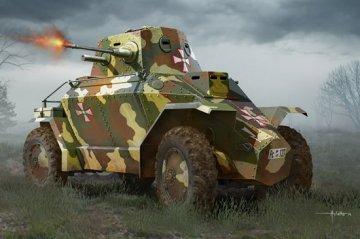 Hungarian 39M CSABA Armored Car · HBO 83866 ·  HobbyBoss · 1:35