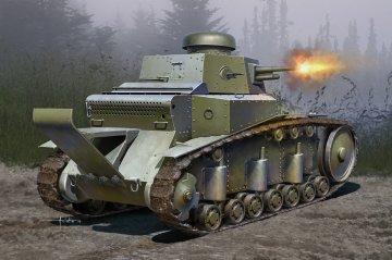 Soviet T-18 Light Tank MOD1930 · HBO 83874 ·  HobbyBoss · 1:35