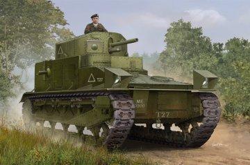Vickers Medium Tank MK I · HBO 83878 ·  HobbyBoss · 1:35