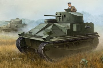 Vickers Medium Tank MK II · HBO 83879 ·  HobbyBoss · 1:35