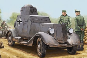 Soviet BA-20M Armored Car · HBO 83884 ·  HobbyBoss · 1:35