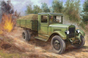 Russian ZIS-5 Truck · HBO 83885 ·  HobbyBoss · 1:35