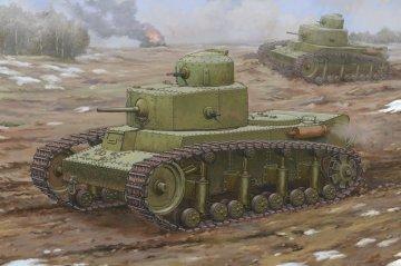 Soviet T-12 Medium Tank · HBO 83887 ·  HobbyBoss · 1:35