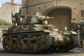 French R39 Light Infantry Tank · HBO 83893 ·  HobbyBoss · 1:35