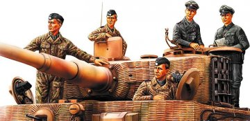 German Panzer Tank Crew (Normandy 1944) · HBO 84401 ·  HobbyBoss · 1:35