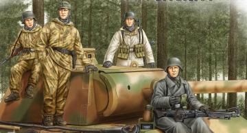 German Panzer Grenadiers Vol.2 · HBO 84405 ·  HobbyBoss · 1:35