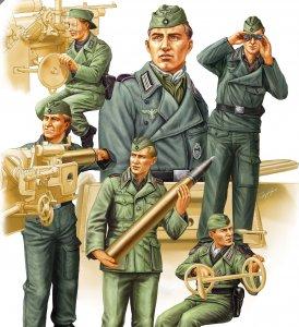 German SPG Crew Vol.2 · HBO 84407 ·  HobbyBoss · 1:35