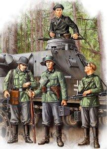 German Infantry Set Vol.1 (Early) · HBO 84413 ·  HobbyBoss · 1:35