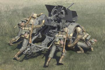 German 20mm Flak 38 Crews · HBO 84418 ·  HobbyBoss · 1:35