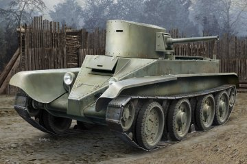 Soviet BT-2 Tank (early version) · HBO 84514 ·  HobbyBoss · 1:35