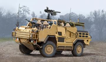 Jackal 1 High Mobility Weapon Platform · HBO 84520 ·  HobbyBoss · 1:35