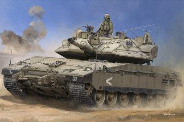 IDF Merkava Mk IV w/Trophy · HBO 84523 ·  HobbyBoss · 1:35