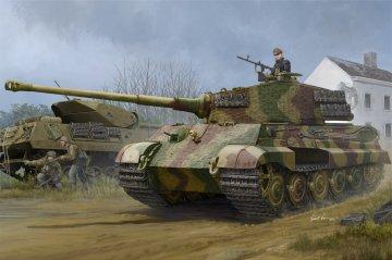 Pz.Kpfw.VI Sd.Kfz.182 Tiger II (Henschel 1944 Production) w/Zimmerit · HBO 84531 ·  HobbyBoss · 1:35