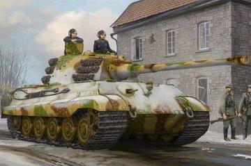 Pz.Kpfw.VI Sd.Kfz.182 Tiger II (Henschel Feb-1945 Production) · HBO 84532 ·  HobbyBoss · 1:35