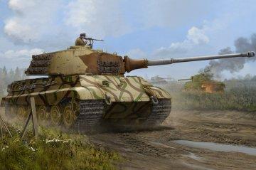 Pz.Kpfw. VI Sd.Kfz. 181, Tiger II Henschel-Turm · HBO 84533 ·  HobbyBoss · 1:35