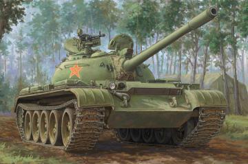 PLA 59-1 Medium Tank · HBO 84542 ·  HobbyBoss · 1:35