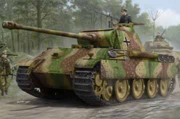 German Sd.Kfz.171 Panther Ausf.G - Early Version · HBO 84551 ·  HobbyBoss · 1:35
