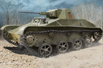 Soviet T-60 Light Tank · HBO 84555 ·  HobbyBoss · 1:35