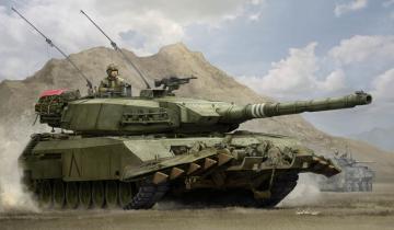 Leopard C2 MEXAS with TWMP · HBO 84557 ·  HobbyBoss · 1:35