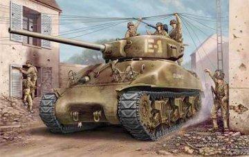 U.S M4A1 76(W) TANK · HBO 84801 ·  HobbyBoss · 1:48