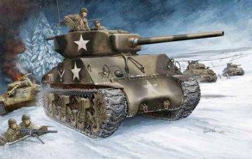 U.S M4A3   (76W)  TANK · HBO 84805 ·  HobbyBoss · 1:48