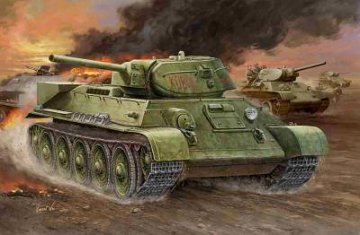 Russian T-34/76 (1942 No.112) tank · HBO 84806 ·  HobbyBoss · 1:48
