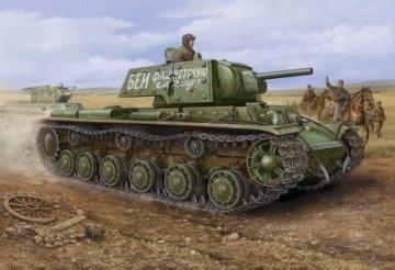 Russian KV -1´S Ehkranami tank · HBO 84811 ·  HobbyBoss · 1:48