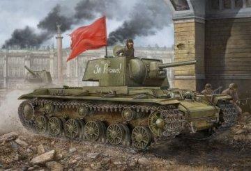 Russian KV-1 1942 Simplified Turret tank · HBO 84812 ·  HobbyBoss · 1:48