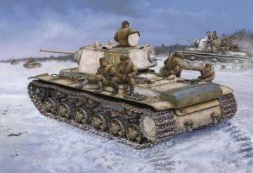 KV-1 1942 Heavy Cast Turret Tank · HBO 84813 ·  HobbyBoss · 1:48