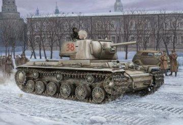 Russian KV -1´S Ehkranami tank · HBO 84814 ·  HobbyBoss · 1:48