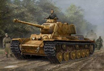 German  Pz.Kpfw  KV-1  756( r ) tank · HBO 84818 ·  HobbyBoss · 1:48