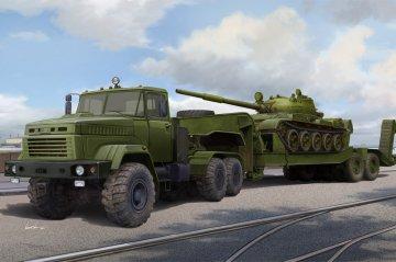 Ukraine KrAZ-6446 Tractor & MAZ/ChMZAP- 5247G Semitrailer · HBO 85513 ·  HobbyBoss · 1:35