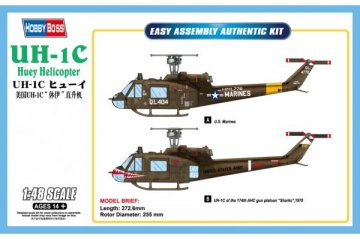 UH-1C Huey Helicopter · HBO 85803 ·  HobbyBoss · 1:48