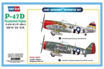 P-47D Thunderbolt Fighter · HBO 85804 ·  HobbyBoss · 1:48