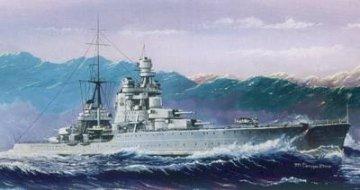 Italian Heavy Cruiser Pola (1941) · HBO 86502 ·  HobbyBoss · 1:350