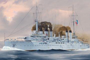 French Navy Pre-Dreadnought Battleship Danton · HBO 86503 ·  HobbyBoss · 1:350