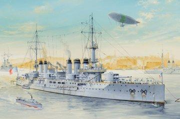 French Navy Pre-Dreadnought Battleship Voltaire · HBO 86504 ·  HobbyBoss · 1:350